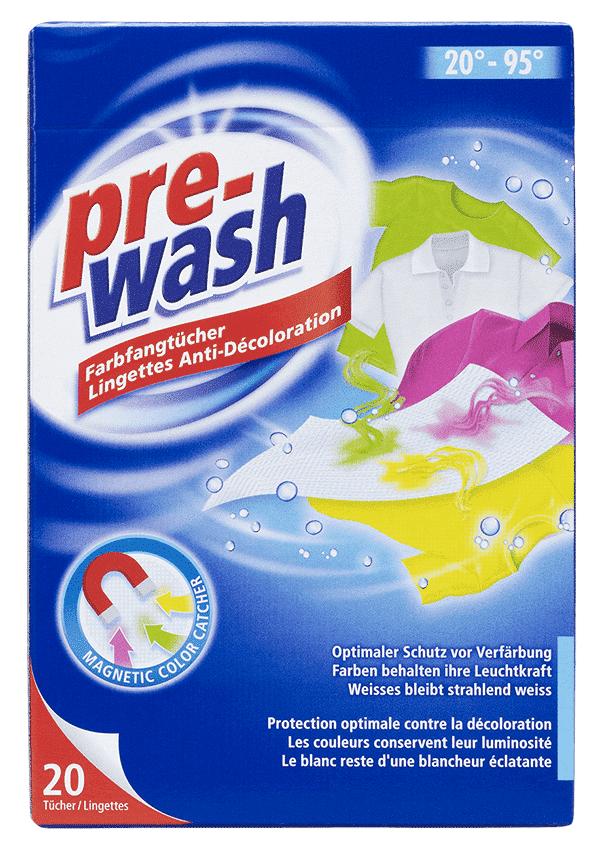 Salviettine anticolorazione pre-wash