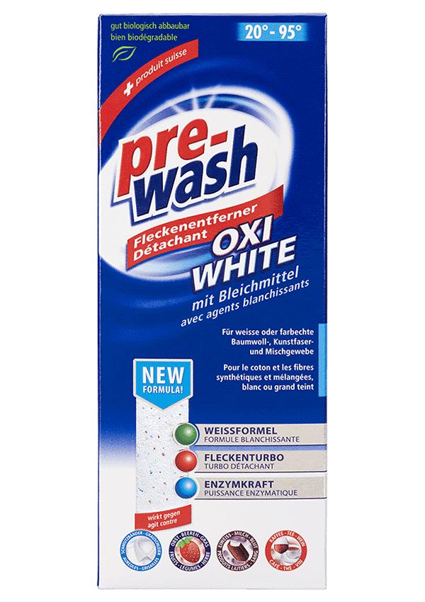 pre-wash Fleckenentferner OXI WHITE